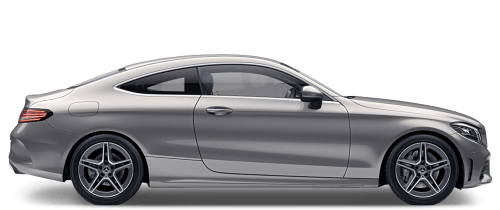 Mercedes C300 AMG Line Coupe hire London