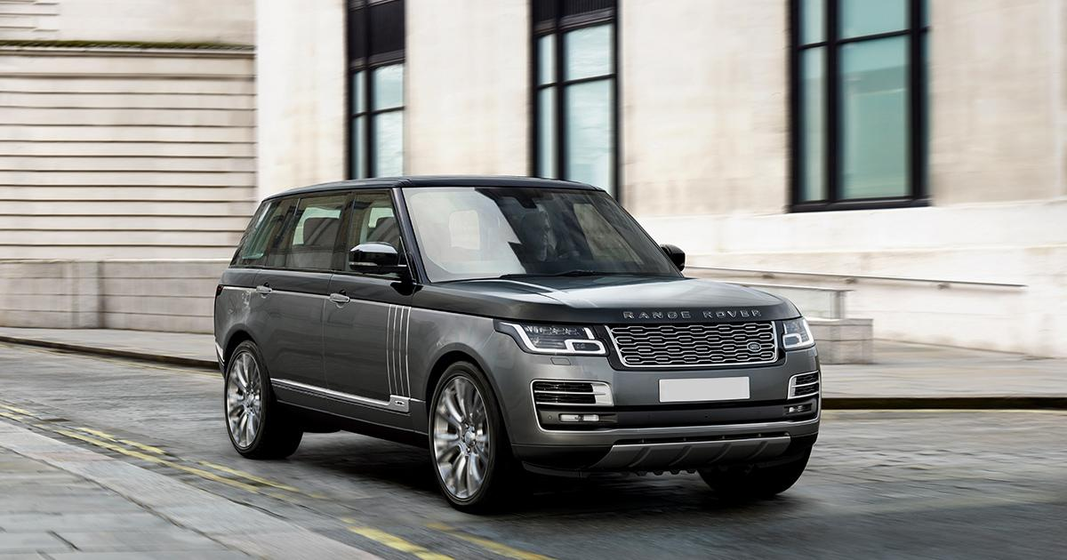 Hire a Range Rover in the UK