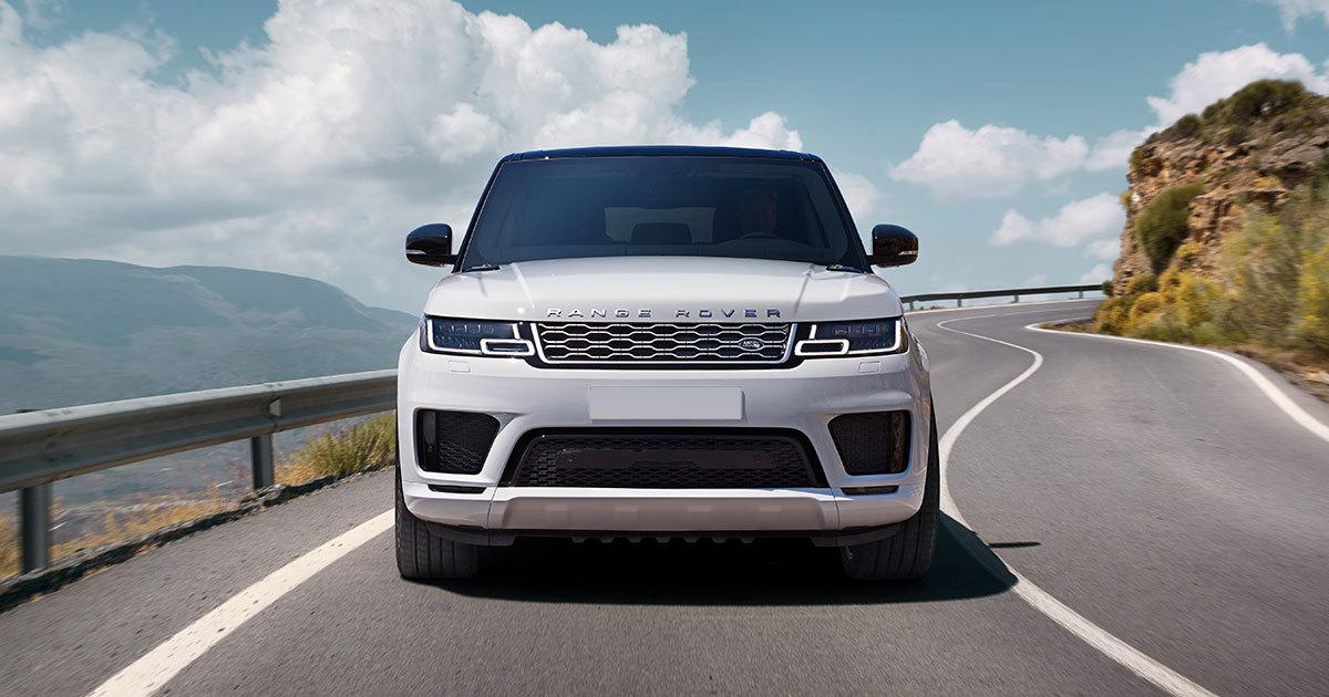 Range Rover Hybrid car hire
